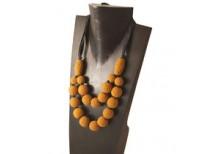 Khmer Creations Crochet Bead Necklace