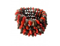 Khmer Creations Diup and Love Seed Wrap Bracelet
